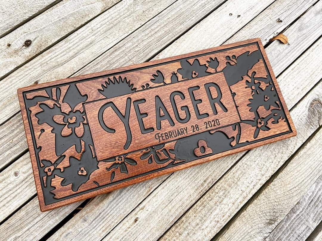 wooden sign gift ideas