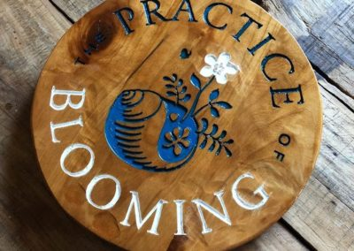 Wood Carving Sign gifts