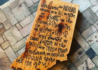 custom quote wood sign