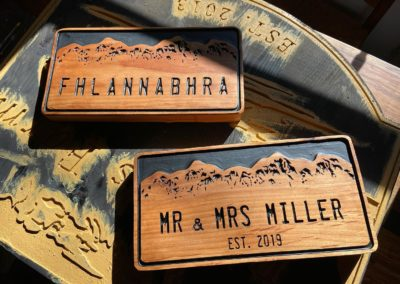 Personalized Last Name Anniversary Gift