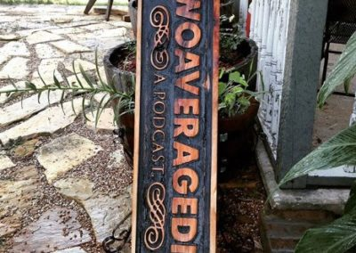Rustic Personalized Company Sign