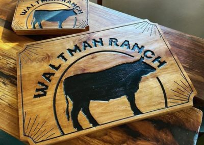 Personalized Ranch Name Signs