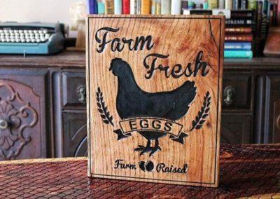Chicken Coop Farm Signs