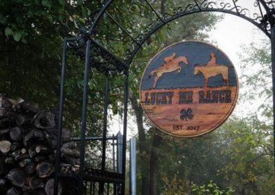 Custom Horse Farm Signs