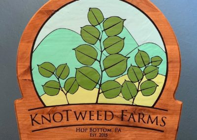knotweed farms sign
