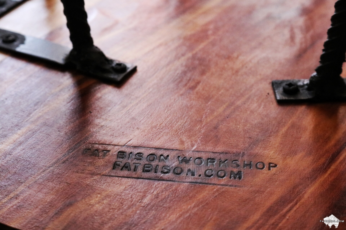 custom hardwood furniturefat bison | fat bison workshop